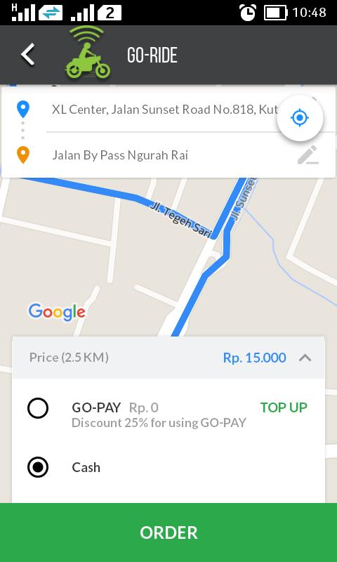 Order Gojek image