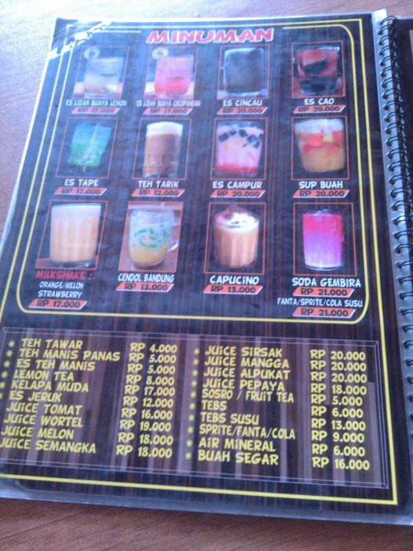 Daftar Minuman image
