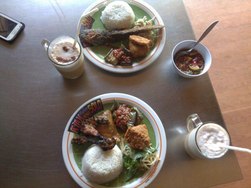 Makanan di Ayam Bakar Wong Solo image
