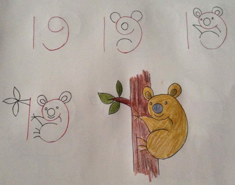 Menggambar Koala