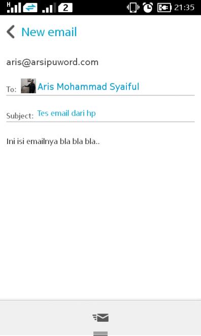 kirim email