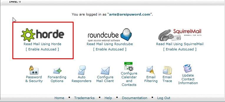 Webmail Dashboard