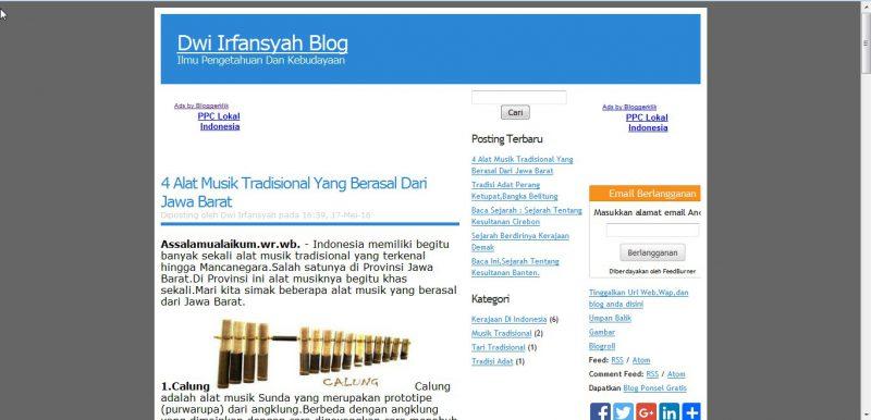 Sumber : Dwi Irfansyah Blog