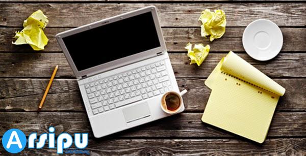 bekerja sebagai penulis online image