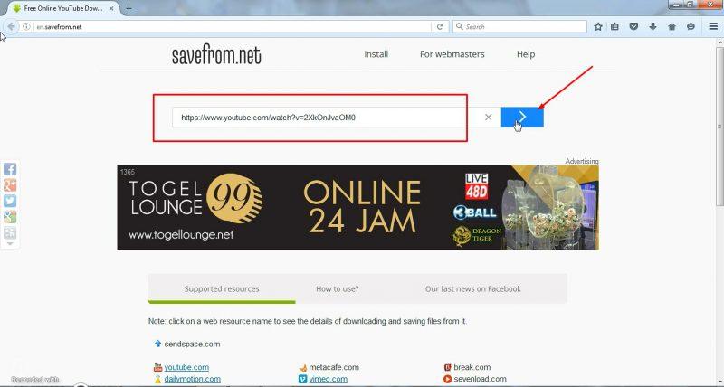 Paste URL Video image